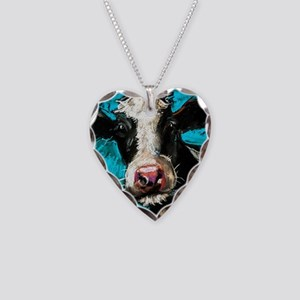 Cow Painting Necklace